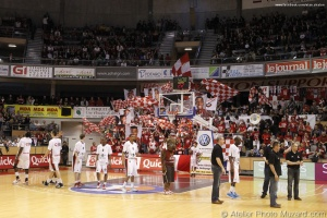 Elan Chalon vs Cholet Basket Coupe de France (3)
