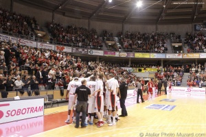 Elan Chalon vs Cholet Basket Coupe de France (8)