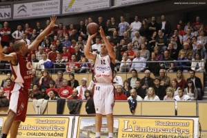 Elan Chalon vs Cholet Basket Coupe de France (22)